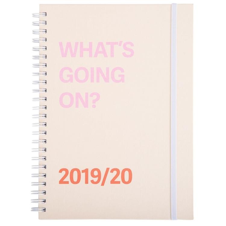 Bilde av Agenda What´s Going On 2019/2020 - Agenda What´s Going On 2019/2020