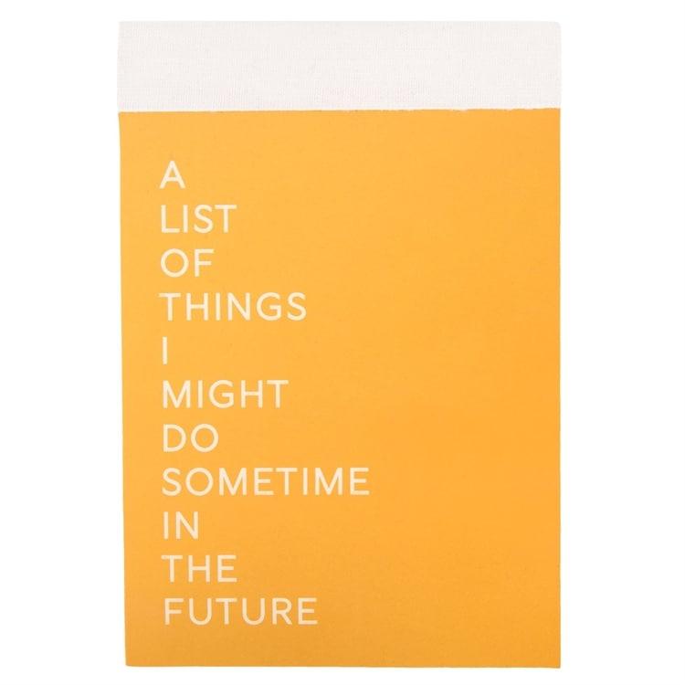 Bilde av Anteckningsblock A List - Anteckningsblock A List